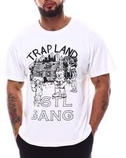 Hustle Gang - Trap Land T-Shirt (B&T)-2620699