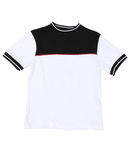 NOTHIN' BUT NET - Color Blocked Crew Neck T-Shirt (8-18)