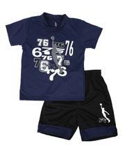Dr.J-Julius Erving - 2 Pc Graphic T-Shirt & Shorts Set (8-20)-2620978