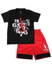 Dr.J-Julius Erving - 2 Pc Graphic T-Shirt & Shorts Set (8-20)-2620982