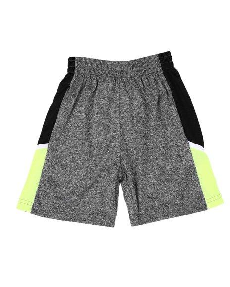 Arcade Styles - Color Block No Hole Mesh Trim Shorts (4-7)