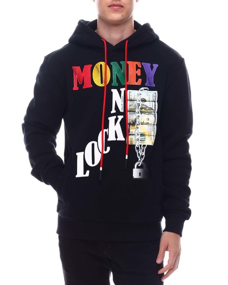 Create 2MRW - Money on Lock Hoodie