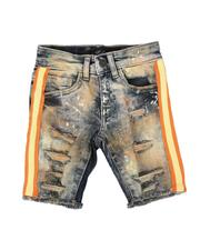 Jordan Craig - Taped Side Destructed Denim Shorts (2-7)-2621699