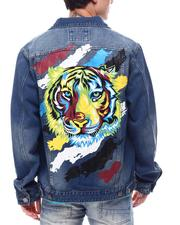 Outerwear - Tiger Paint Jacket-2616053