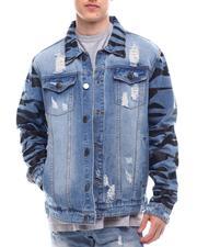 Denim Jackets - Tiger camo jacket-2616064
