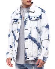 Denim Jackets - Bleached Denim Jacket-2616088
