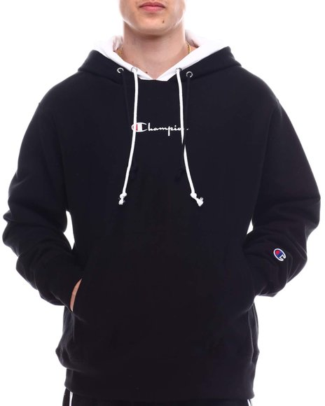 Champion - REVERSE WEAVE PULLOVER DOUBLE HOODIE