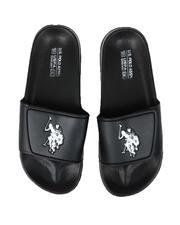 U.S. Polo Assn. - U.S. Polo Assn. Strap Slides-2621710