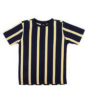 Boys - Basic Vertical Stripe Tee (4-7)-2611923