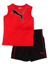 Sets - 2 Pc Performance Muscle Tee & Shorts Set (4-7)-2612530