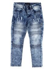 Jeans - Rip & Repair Stretch Jeans (8-18)-2612714