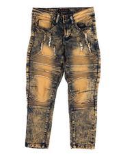 Jeans - Rip & Repair Stretch Jeans (8-18)-2612729