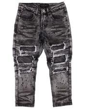 Arcade Styles - Rip & Repair Moto Jeans (8-18)-2612737