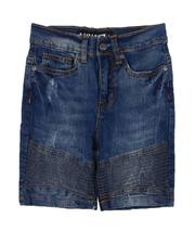 Bottoms - Stretch Biker Denim Shorts (4-7)-2609143