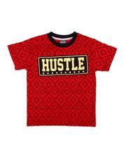 Boys - Hustle Tee (4-7)-2611094