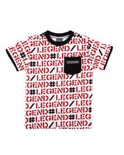 Boys - Legend All Over Verbiage Print T-Shirt (4-7)-2611263