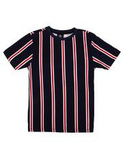 Boys - Basic Vertical Stripe Tee (8-20)-2611989