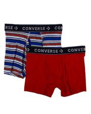 Loungewear - 2 Pk Stripe Boxer Briefs (6-20)-2608145