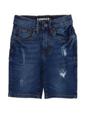 Tony Hawk - Distressed Denim Shorts (4-7)-2609148