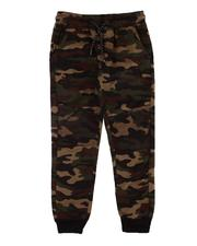 Sweatpants - Quilted Knee Joggers (8-16)-2612556