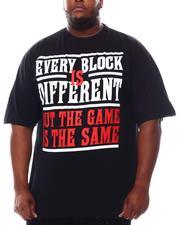 Big & Tall - Different Block Same Game T-Shirt (B&T)-2622214