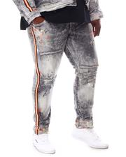 Jordan Craig - Distressed Tapered Denim Jeans (B&T)-2612415