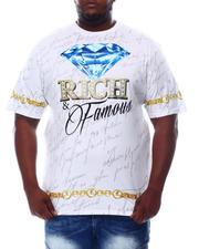 Big & Tall - Rich & Famous T-Shirt (B&T)-2621055