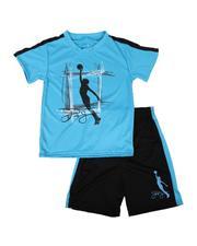 Sets - 2 Pc Graphic T-Shirt & Shorts Set (8-20)-2621532