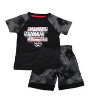 Sets - 2 Pc Graffiti Tee & Shorts Set (4-7)-2621853