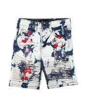 Shorts - Moto Denim Shorts (2-7)-2621895