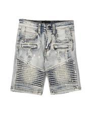 Shorts - Moto Denim Shorts (2-7)-2622039