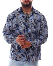 Button-downs - Leaf Button Down Long Sleeve Shirt (B&T)-2619756