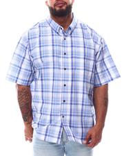 Button-downs - Plaid Brushed Woven Shirts (B&T)-2622807