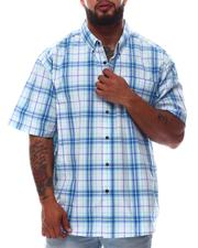 Button-downs - Plaid Brushed Woven Shirts (B&T)-2622811