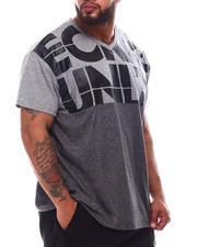 Ecko - Hold Fast V-Neck T-Shirt (B&T)-2619647