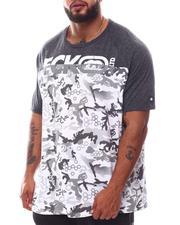 Ecko - Camo Block Knit T-Shirt (B&T)-2619668