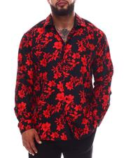 Buyers Picks - Floral Button Down Long Sleeve Shirt (B&T)-2619752