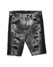 Jordan Craig - Taped Side Destructed Denim Shorts (8-18)-2622153
