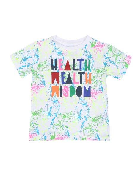 Parish - Health Wealth Wisdom Tee (2T-4T)
