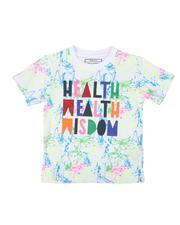 Parish - Health Wealth Wisdom Tee (4-7)-2622265