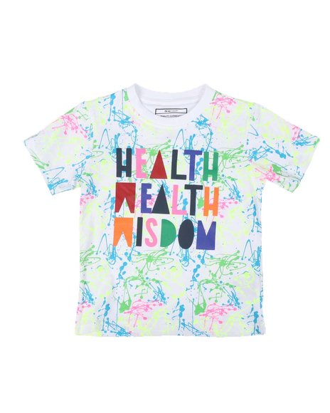 Parish - Health Wealth Wisdom Tee (4-7)