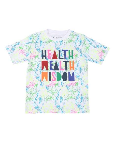 Parish - Health Wealth Wisdom Tee (8-20)