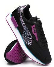 Puma - Future Rider Neon Safari Mesh Sneakers-2622591