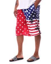 Swimwear - Stars Flag Board Shorts (B&T)-2622847