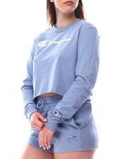 Champion - Boyfriend L/S Cropped Tee-2616815