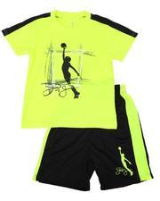 Sets - 2 Pc Graphic T-Shirt & Shorts Set (8-20)-2621528