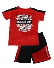 Sets - 2 Pc Name Tag Tee & Mesh Shorts Set (4-7)-2621820