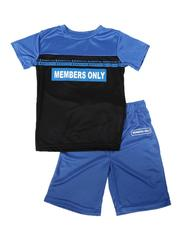Members Only - 2 Pc Tee & Shorts Set (8-20)-2621877
