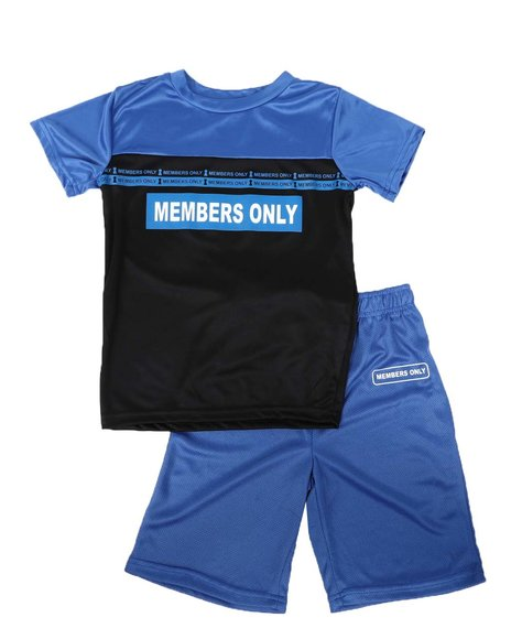 Members Only - 2 Pc Tee & Shorts Set (8-20)
