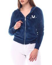 Outerwear - Dazzled Tr Zip Hoodie-2584936